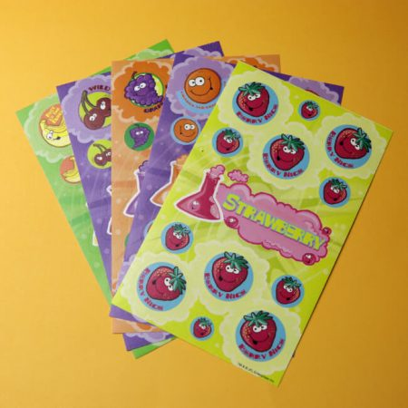 Fruity Smelly scratch 'n' Sniff Sticker Variety Pack Set 1