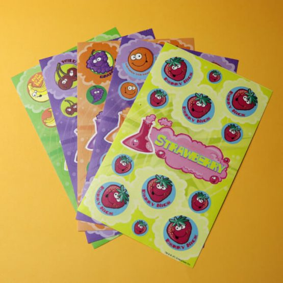 Fruit Smelly scratch 'n' Sniff Sticker Variety Pack Set 1
