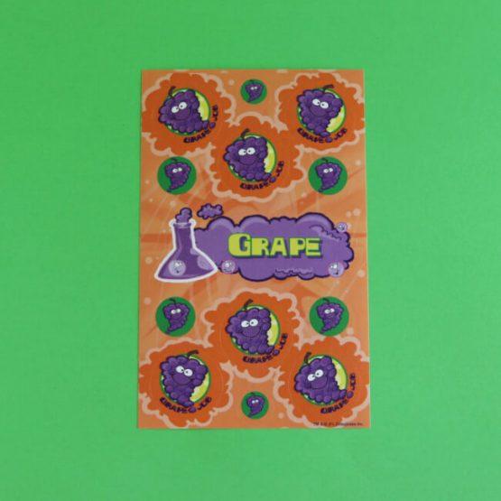 Grape Scratch 'n' Sniff Stickers