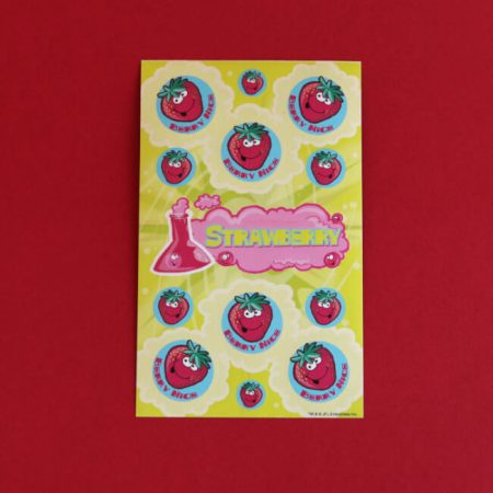 Strawberry Scratch 'n' Sniff Stickers
