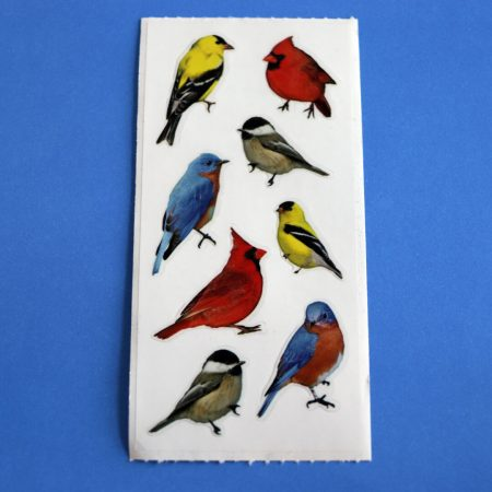 Colourful Birds Sticker Sheet