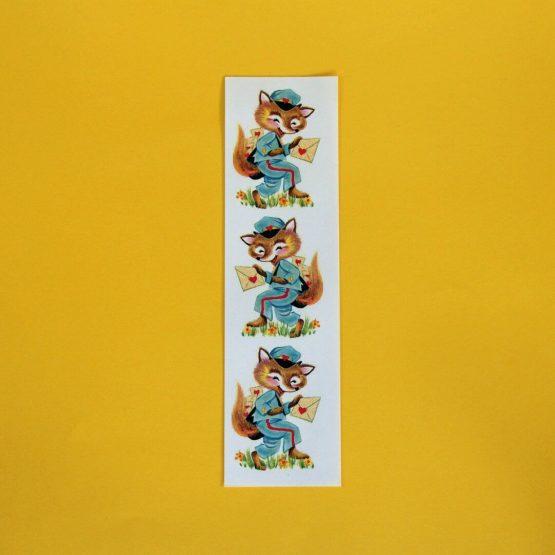 Mailman Fox Sticker Sheet