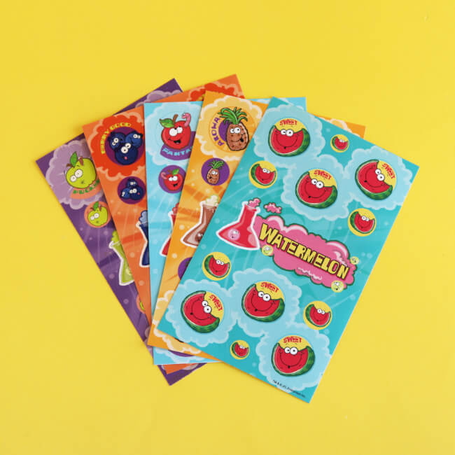 Fruit Smelly Variety Sticker Pack