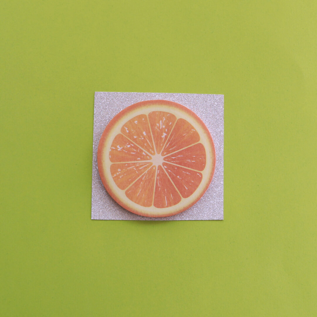 Orange Sticky Notes