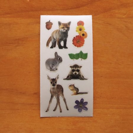 Spring Baby Animal Sticker Sheet