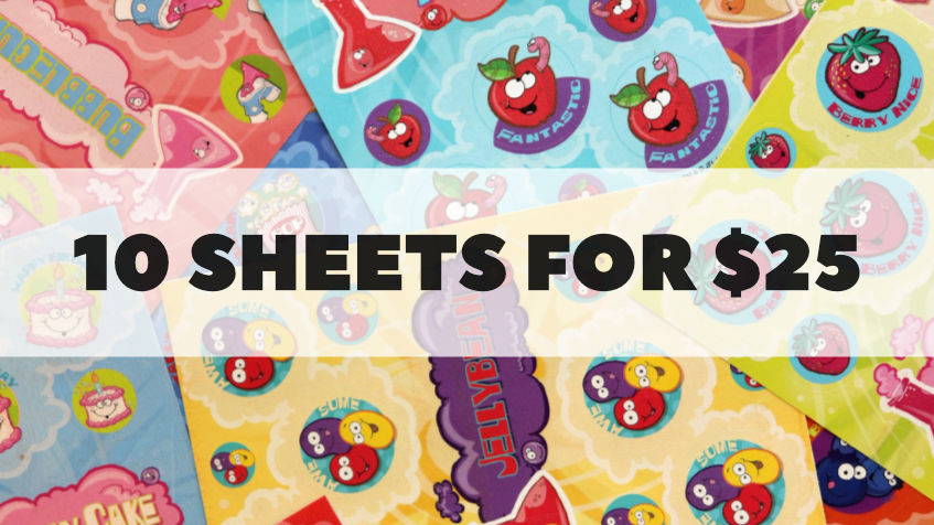 10 Sheets For $25
