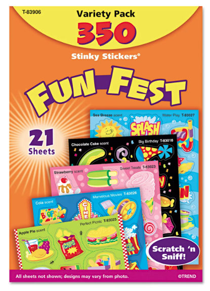 Stinky Stickers Variety Pack