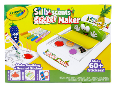 Big W Scented Sticker Maker