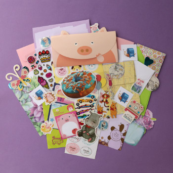 may 2019 sticker and stationery subscription box
