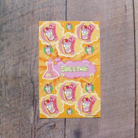 smoothie scratch n sniff stickers