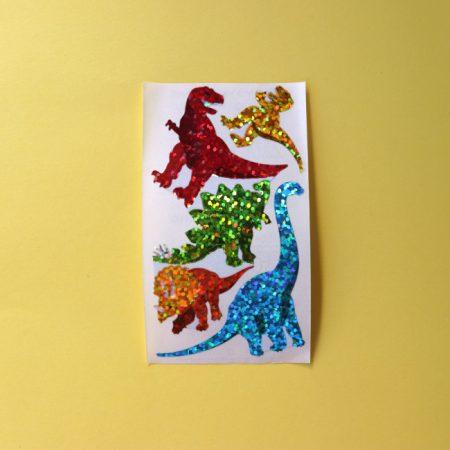 Prismatic Dinosaurs Sticker Sheet