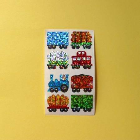 Prismatic Train Sticker Sheet