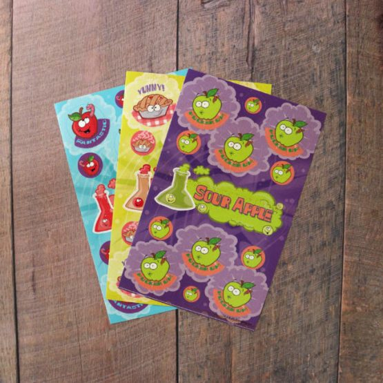 apple scented scratch & sniff pack