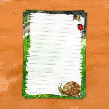 Cute Little Bugs Letter Writing Set