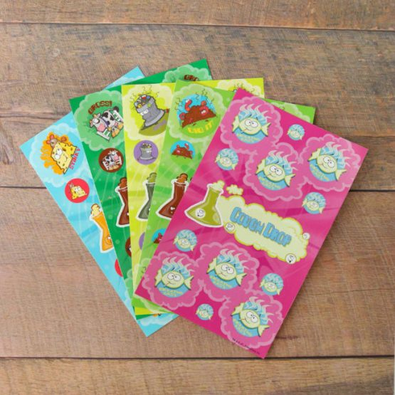 Super stinky scratch & sniff sticker multi-pack