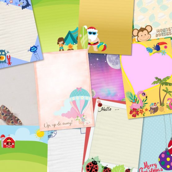 12 letter writing sets